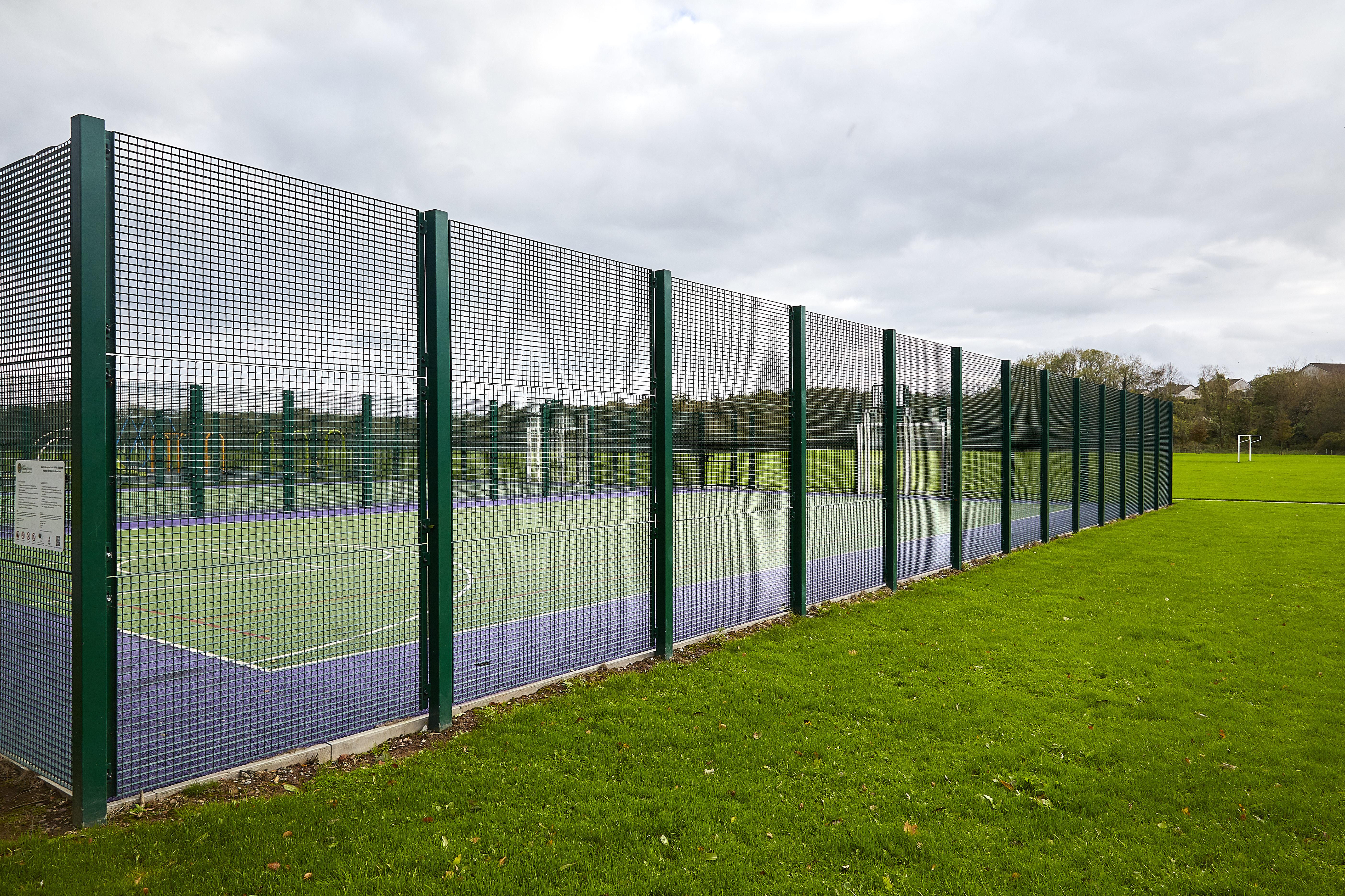 Fencing, mesh fencing, pitch fencing, gaa fencing, security fencing, perimeter fencing, daniel whelan fencing, mesh fencing supplier., fencing ireland