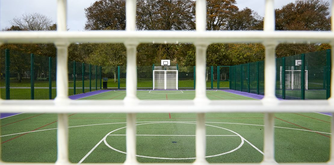 Fencing, sports ground fencing, fencing, sports fencing, MUGA fencing, sports rebound fencing, ball stop netting