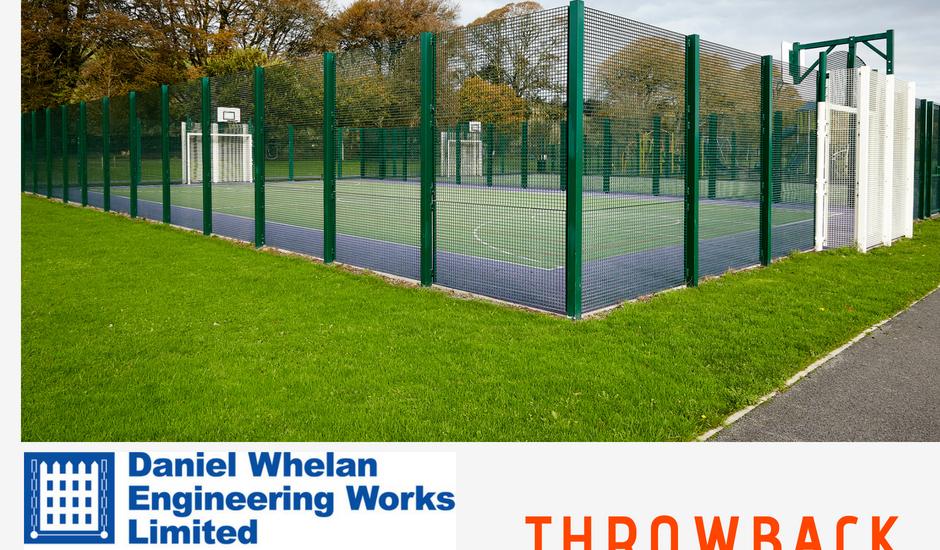 Fencing, daniel whelan engineering, fencing, astro pitch, sports ground fencing, spectator railing, fencing, gaa fencing