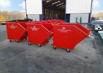 Waste material handling, daniel whelan engineering, skips, daniel whelan waste material handling,