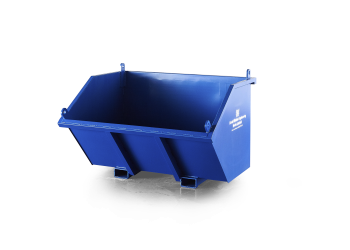 Direct Mount Skips, Daniel Whelan Engineering, Waste Material Handling