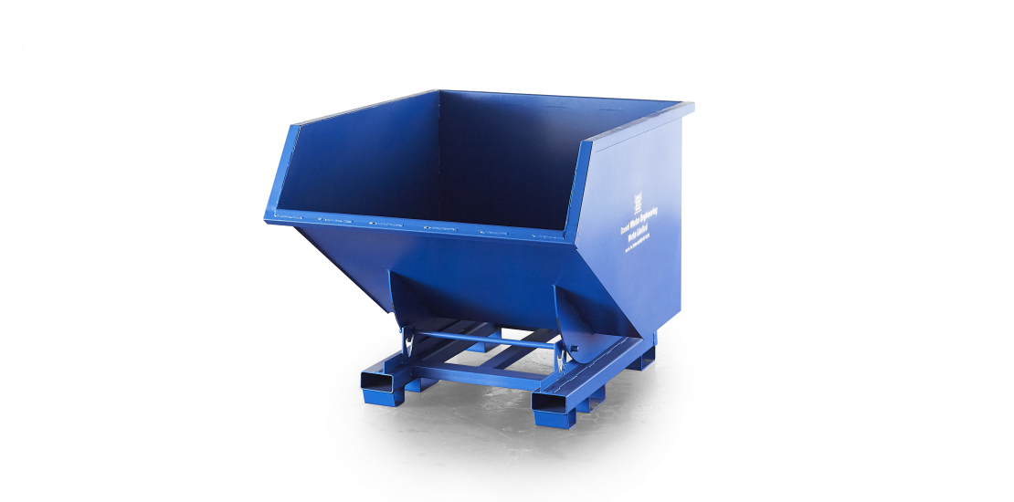 Tipping skips, forklift tipping skips, buy skips, construction skips