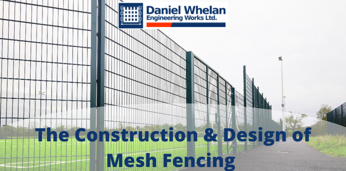 Mesh fencing, daniel whelan fencing, Irish fencing, security fencing, perimeter fencing